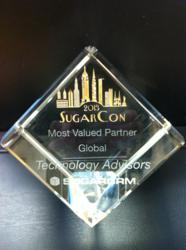 technology advisors-sugarcrm integration-sugarcrm consulting-sugarcrm awards