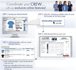 Uniform Advantage Scrubs Group Ordering