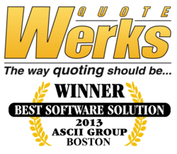 QuoteWerks Wins Best Software ASCII Boston Summit 2013