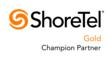 ShoreTel Gold Champion Partner Logo