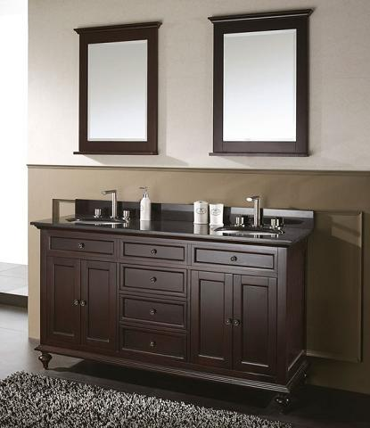 Popular Cologne  Transitional Bathroom Vanity Set 43quot