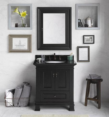 Introduces A Guide To Transitional Bathroom Vanities For A Casual Twist On A