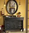 Guild Hall 48 Inch Vanity In Distressed Black From Kaco