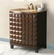Florence Bathroom Vanity In Antique Walnut From Virtu USA