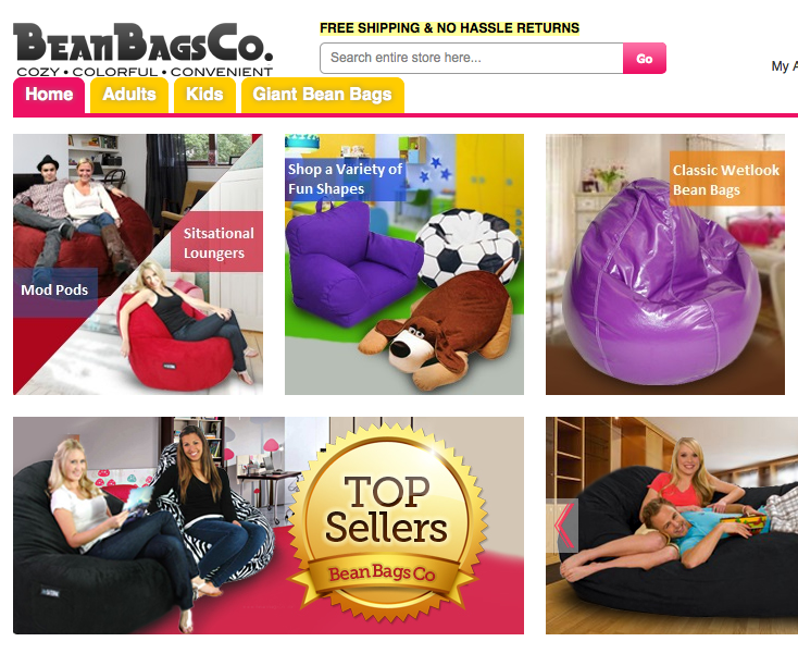 Bean Bag Chair Prices Slashed In Grand Opening Sale