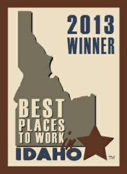 Winner seal for the Best Places to Work in Idaho contest