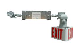 Larson Electronics Releases Explosion Proof Exit Sign with Emergency Backup