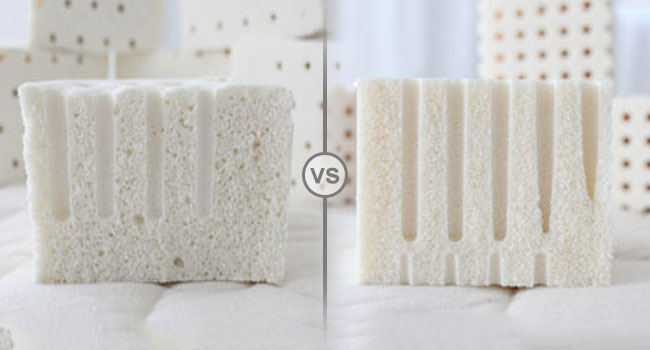 dunlop or talalay latex mattress differences explained in latest best mattress reviews article. Black Bedroom Furniture Sets. Home Design Ideas
