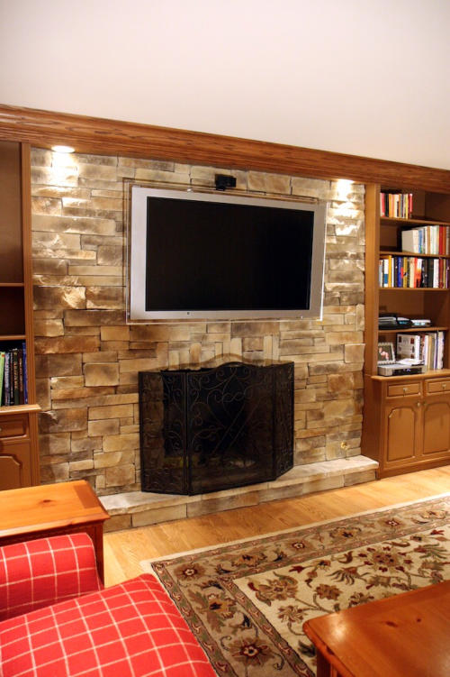 Custom Stone Fireplaces. Custom Fireplace Veneer From North Star StoneThis fireplace was rehabbed  with new custom stone veneer Stone Manufacturer Announces Launch of Color App
