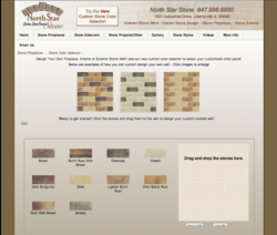 Stone Veneer Manufacturer North Star Stone's Custom Color Selector