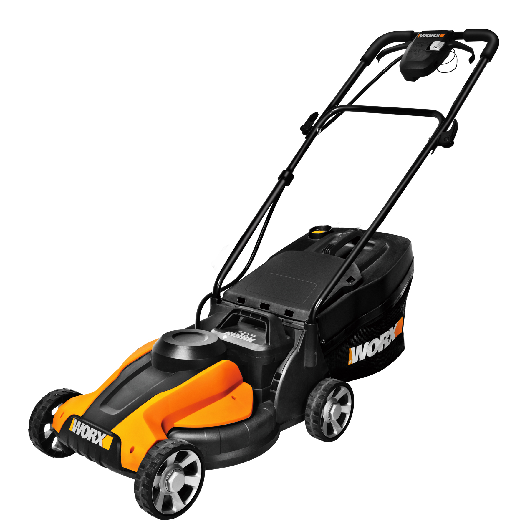 New Worx 14 In Cordless Lawn Mower Is Efficient