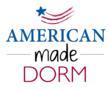 dorm bedding, college bedding, bedding for dorms, USA made dorm bedding