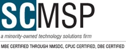 SCMSP - MBE, DBE, and CPUC certified business technology soltuions consulting firm.