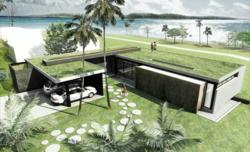 Arcbazar Competition: Dream Bungalow in BRAZIL!  Location: Sao Paulo, Brazil Design entry: EMS Arquitectos, Colombia