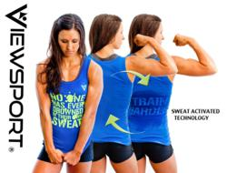 ViewSPORT sweat activated fitness apparel.