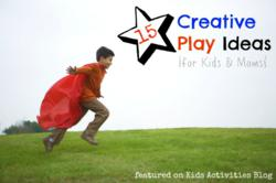 creative play ideas for kids and moms