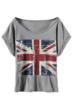 Cropped T-shirt, Union Jack T-shirt