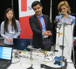 A popular demonstration session at SPIE Smart Structures/NDE highlights the latest capabilities and applications of electroactive-polymer (EAP) materials.