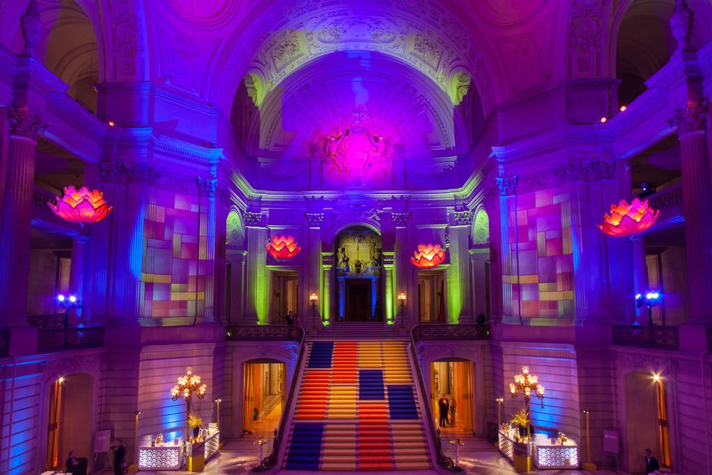 Got Light Event Lighting for San Francisco Ballet Gala.Got Light created hand-sewn silk chandeliers to illuminate San Franciscou0027s City Hall.  sc 1 st  PR Web & Got Light San Francisco Bay Area Lighting and Event Design ... azcodes.com