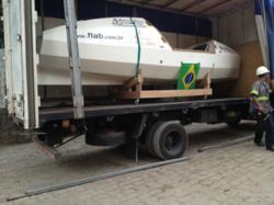 Santos, Sao Paulo - DSV Air & Sea Logistica Ltda. and MSC - MEDiterranean LOGistica Ltda coordinate the shipping for the Spirit of Malabo.