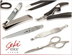 Seki Edge grooming tools