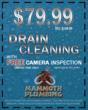 Save $170 on Drain Cleaning Service with Mammoth Plumbing
