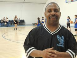Coach Donald Harrison of Highland Hall Waldorf School