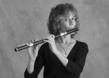Flutist Kate Steinbeck