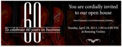 Benning Violins, violins, violas, cellos, bows, Los Angeles, Eric Benning