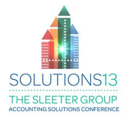 2013 Accounting Solutions Conference