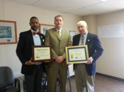 (l) Marcus Verner USDOC (c) Andrew Hotchkies Witt Lining Systems (r) Jim Williams USDOC