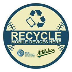 Sims Recycling Solutions and Oakland A's Cellphone Recycling