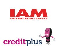 Institute of Advanced Motoring and Creditplus Logo
