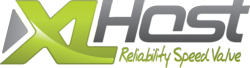 The XLHost brand logo