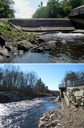 The Atlantic Salmon Federation has restored fish habitat by removing the West Winterport Dam