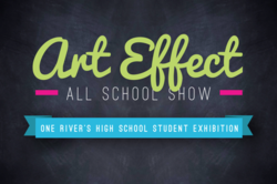 "One River Gallery in Englewood will present ""Art Effect"", an art exhibition and competition for high school students in Bergen County, opening 5/31.  (http://onerivergallery.com/gallery/exhibitions/Art%20Effect:%20High%20School%20Competition/installation)"