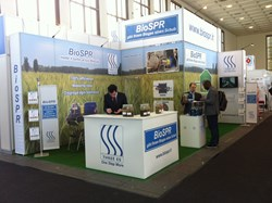 Three-Es Bio-SPR Stand at BioGas World Trade Fair Berlin