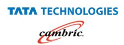 Tata Technologies and Cambric logos
