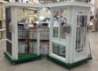 A Venetian Builders, Inc., retail sales display. Venetian displays, located in 41 Home Depots, have helped increase Venetian sales more than 150 percent.