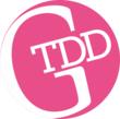Girl Two Doors Down flip flops logo