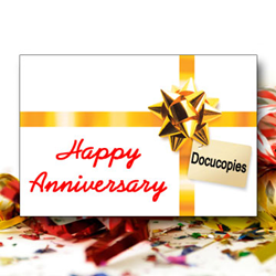 Docucopies celebrates 2 years of business in California.