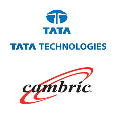 Cambric and Tata Technologies Logos