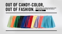 Candy Color Skirts, Skater Skirts