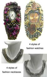 Fashion Watches and Fashion Necklaces Free Gift with Purchase