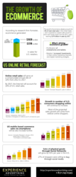 Growth of Ecommerce Infographic
