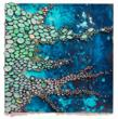 Mineral Turquoise by Amy Genser on exhibit at Elisa Contemporary Art