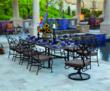 Marquette 11 Piece Patio Dining Set from OW Lee