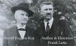 Sheriff E.W. Kay and Historian Frank S. Latta