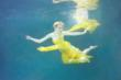 Designer Dalia MacPhees Ethereal Underwater Shoot With Hart Of Dixie...
