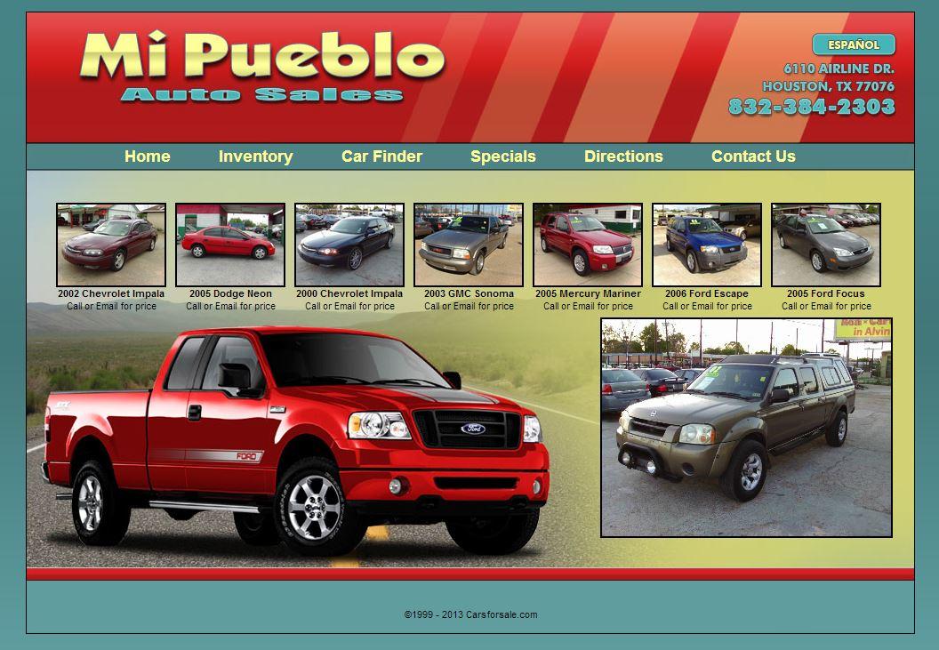 Carsforsale.com® Announces Launch of New Mi Pueblo Auto Sales Website